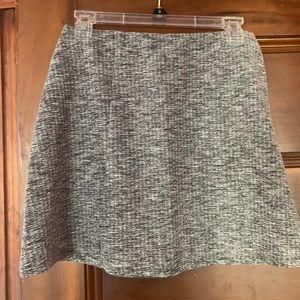 H&M divided gray knit skirt